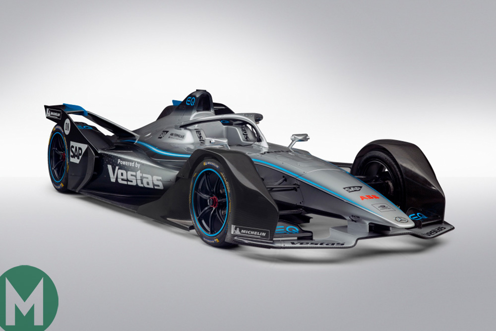 Vandoorne and de Vries confirmed as Mercedes unveils its Formula E car