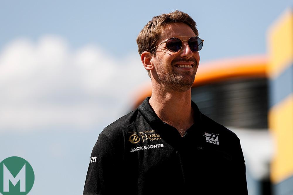Romain Grosjean confirmed at Haas for 2020 Formula 1 season