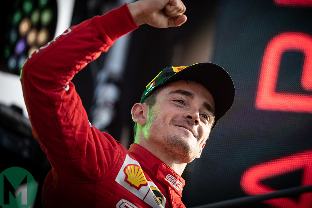 Leclerc's Monza win and the exclusive F1 club he joins