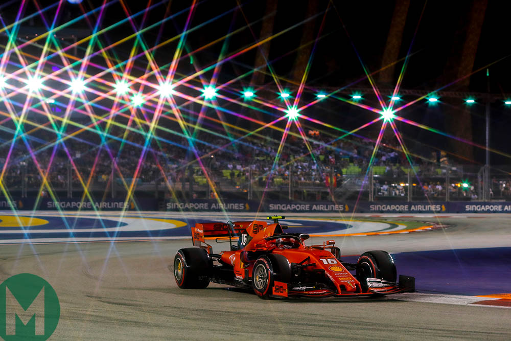 2019 Singapore Grand Prix qualifying: Leclerc's star shines brighter after shock pole