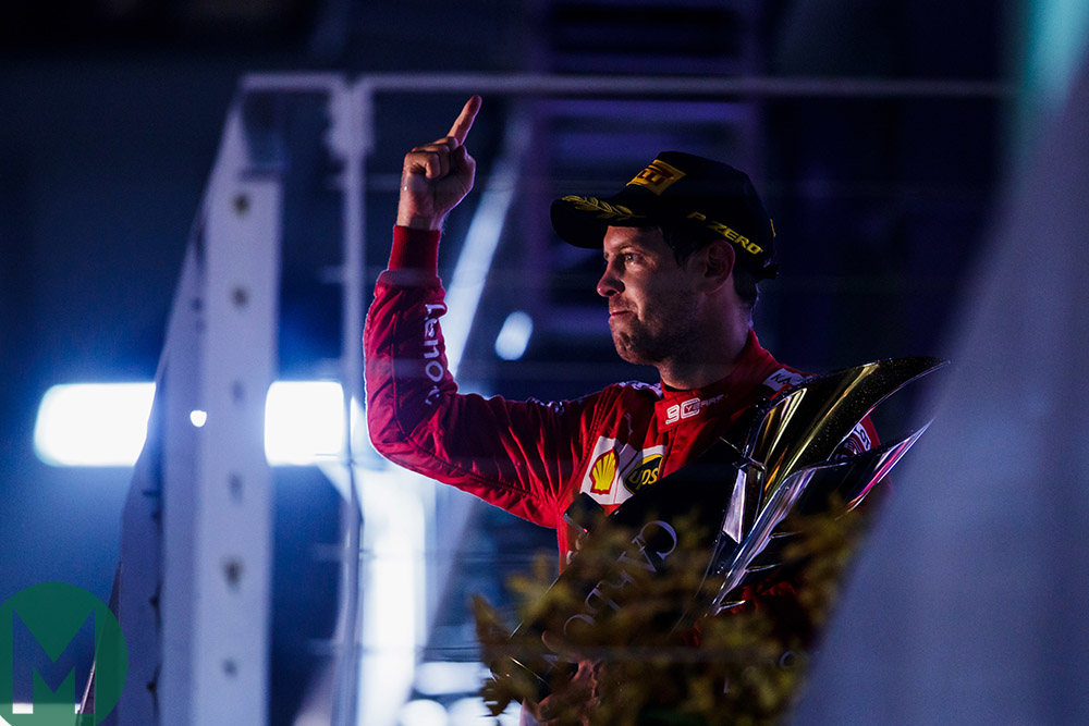 Vettel can bounce back after win drought, like Brabham, Andretti and Hawthorn