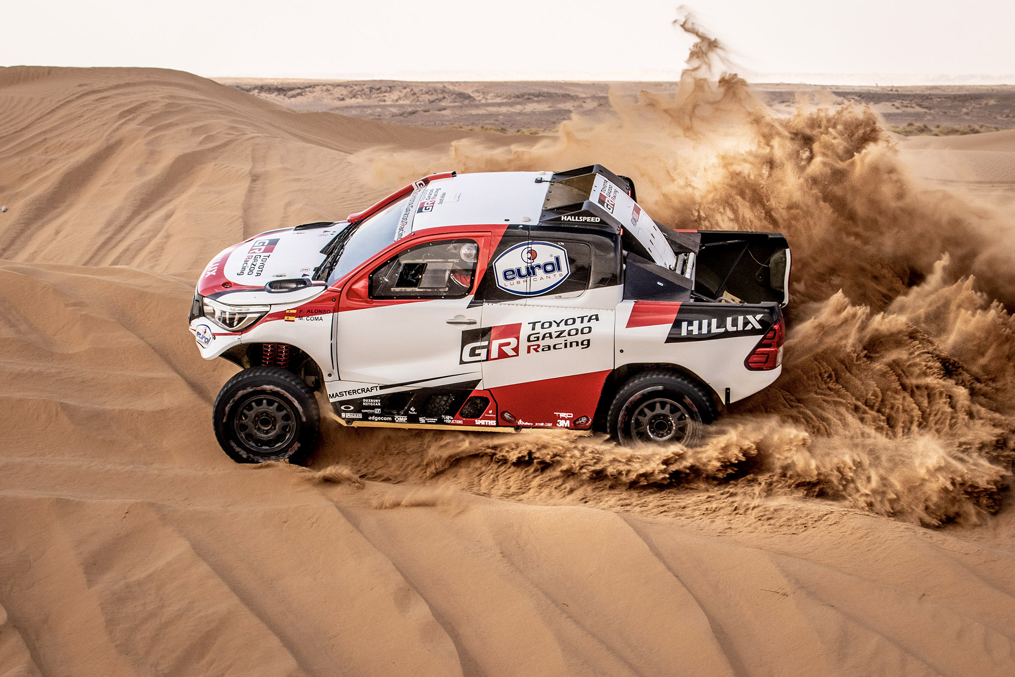 Alonso joins Toyota line-up for Rally of Morocco in Dakar preparation