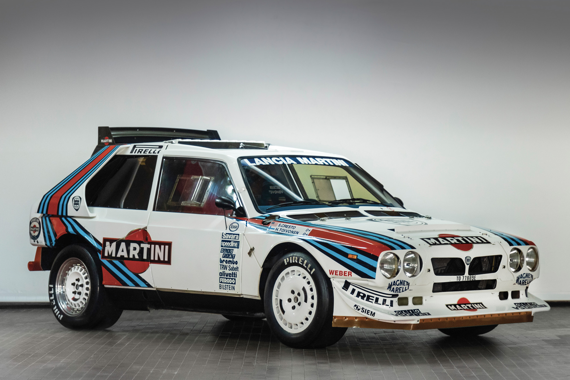 RAC Rally-winning Lancia Delta S4 sells for £764,000 at auction