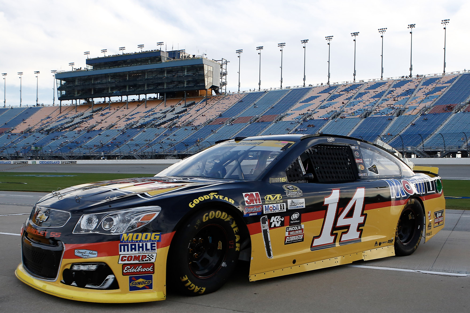 Tony Stewart's No14 Chevrolet