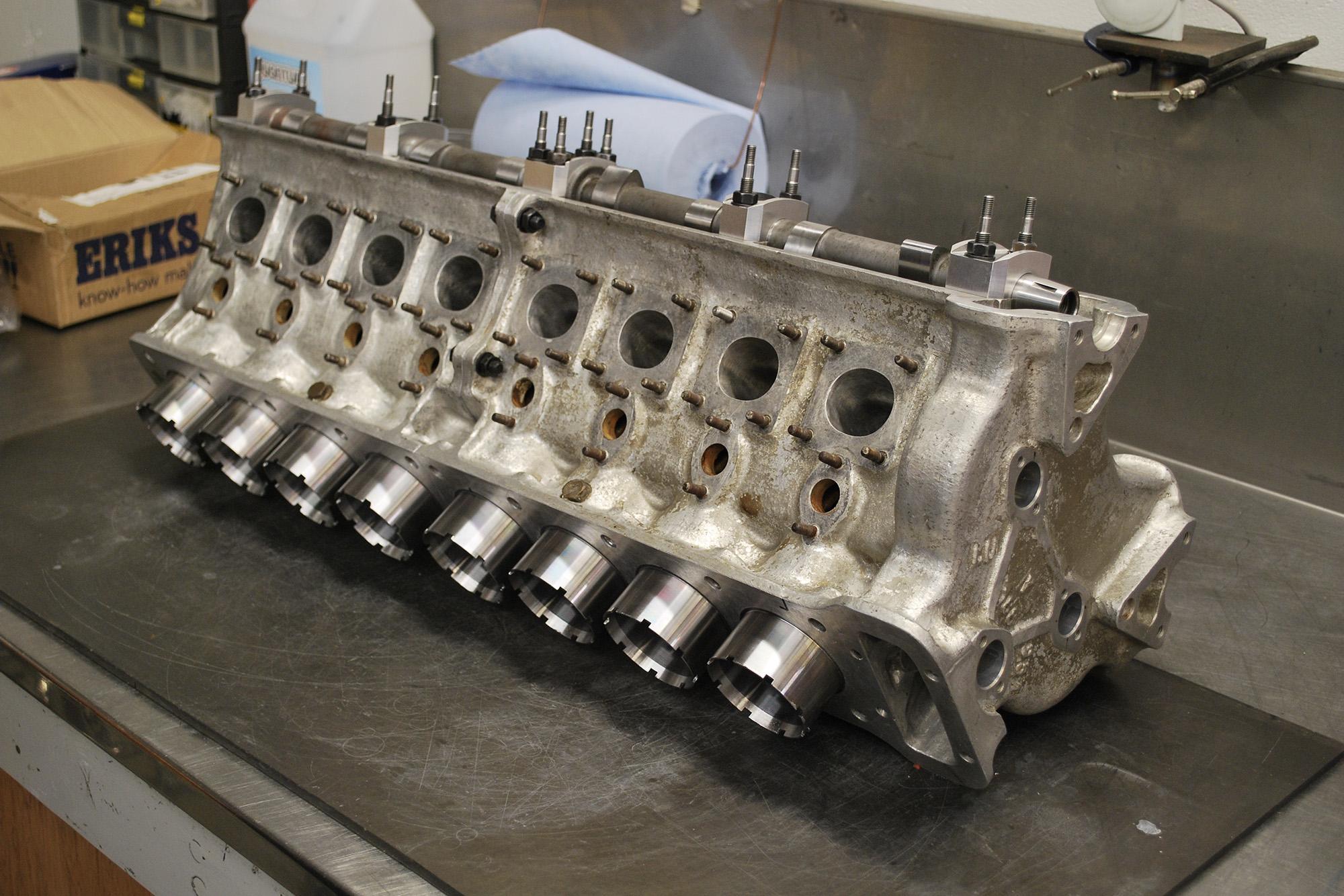 Alfa 158 engine block