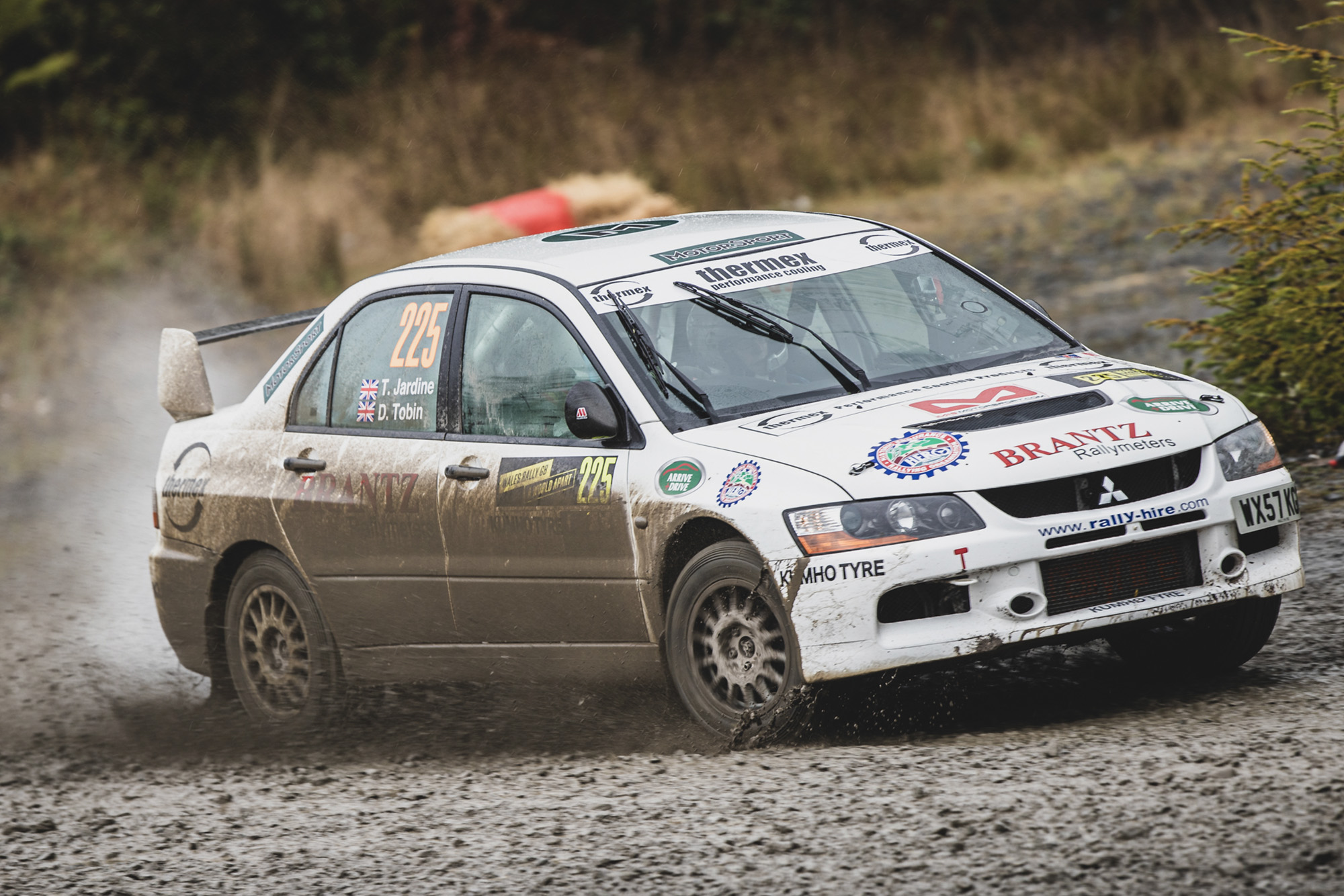 Motor Sport at Wales Rally GB: Top ten placing after Day One