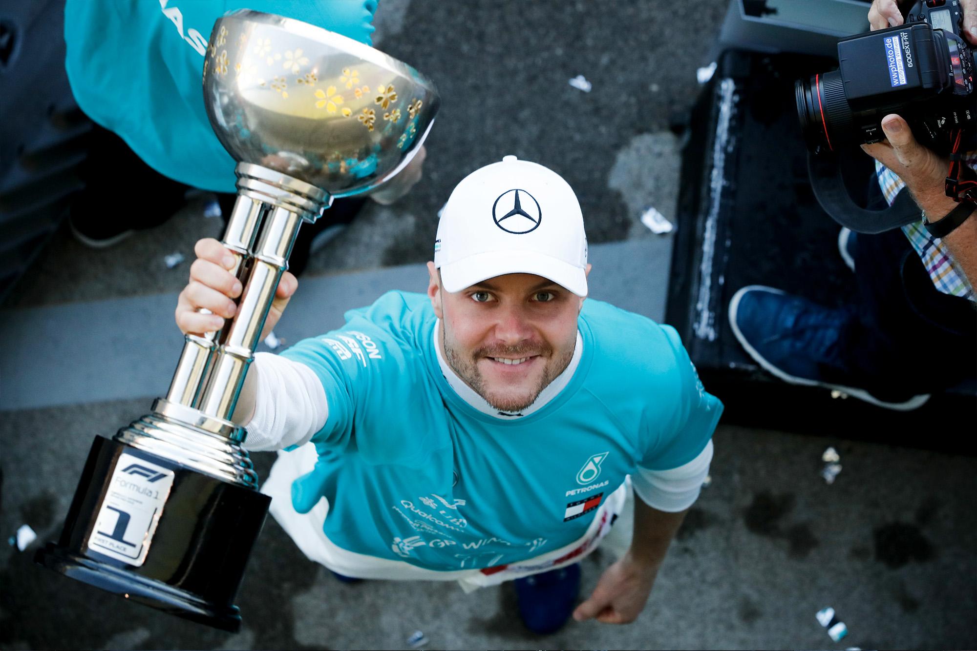 2019 Japanese Grand Prix report: Cool Bottas seals Mercedes championship