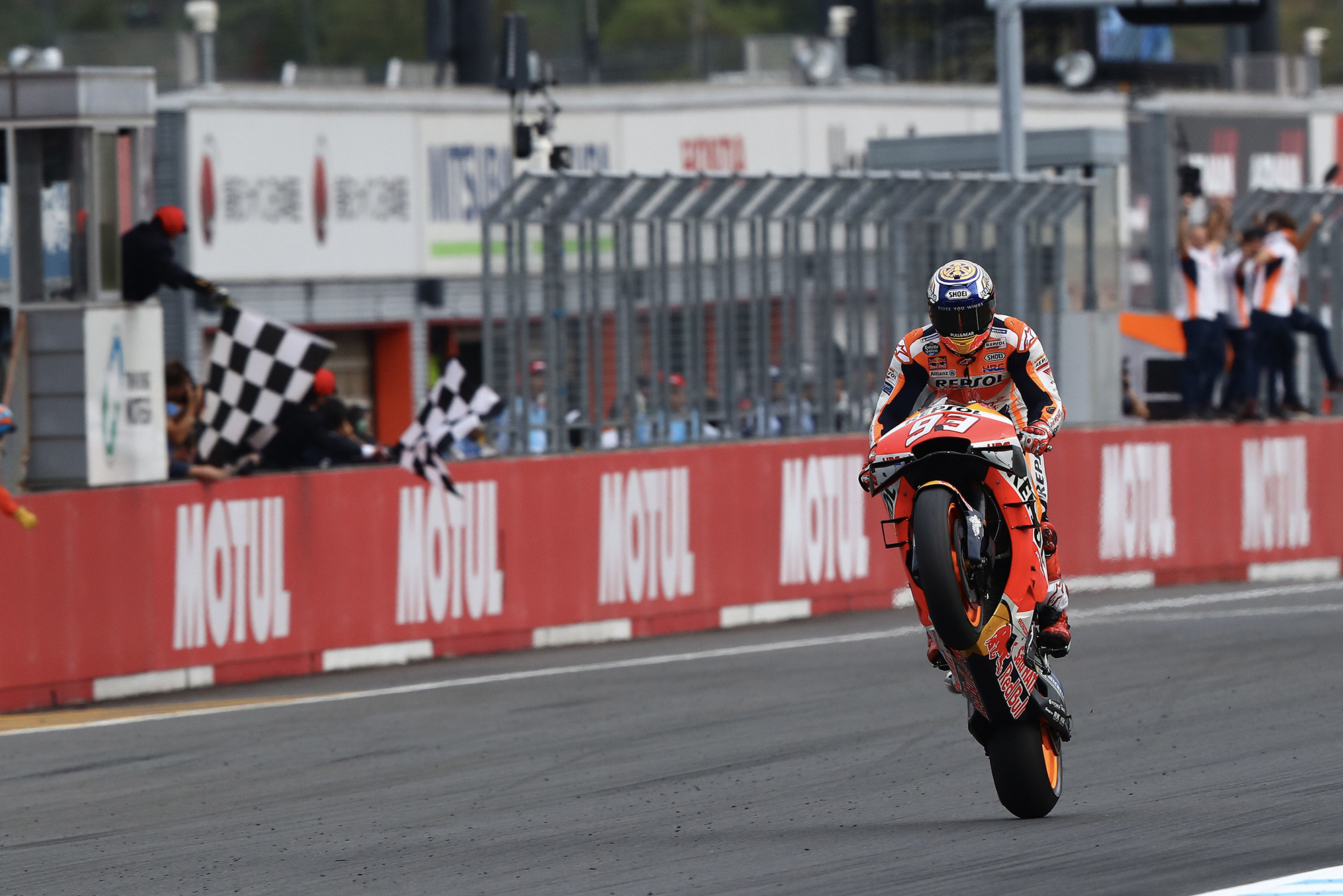 "Márquez out of gas with ""perfect"" strategy at the 2019 MotoGP Grand Prix of Japan"
