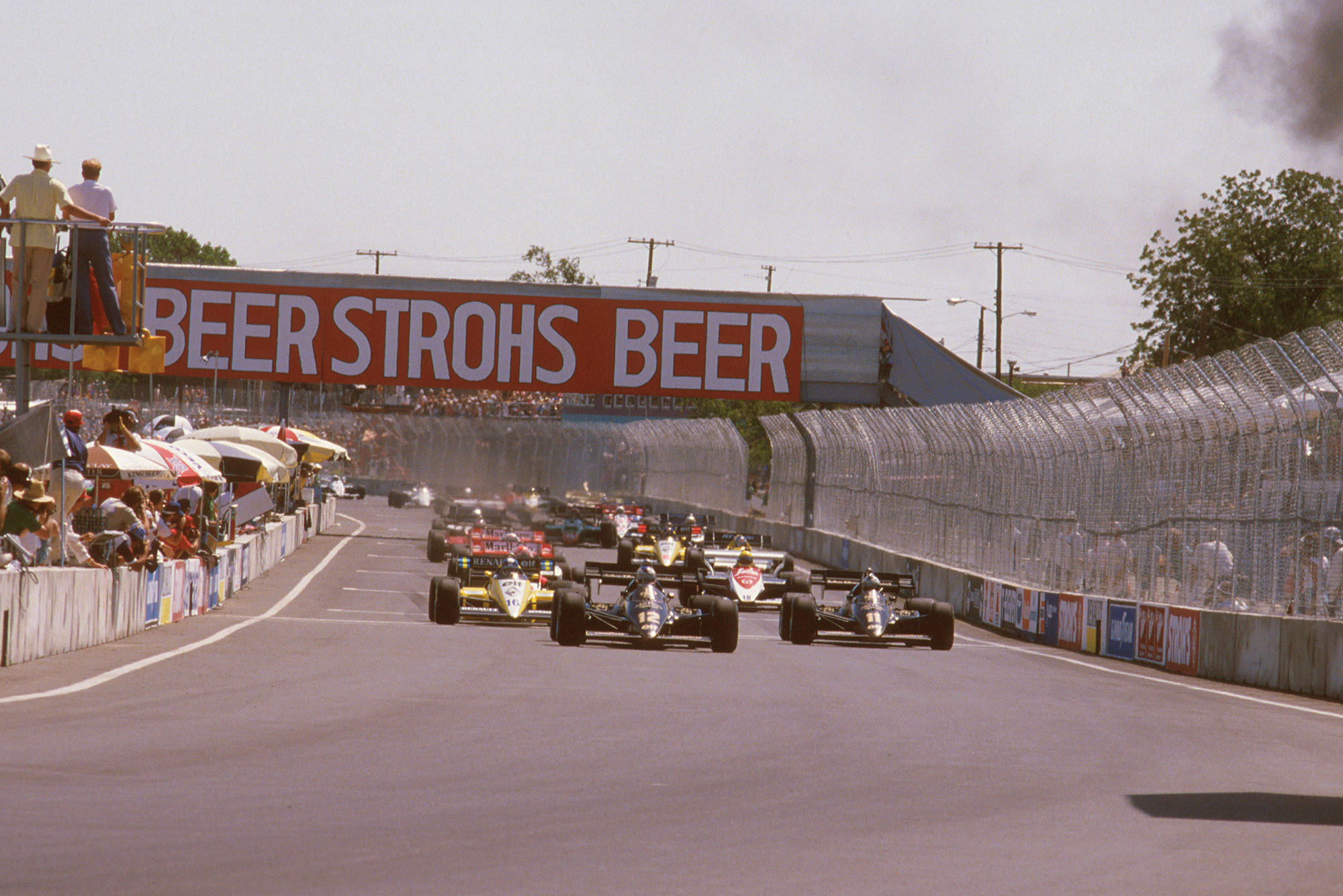 """In Formula 1, it's not only the engines that whine"":  the 1984 Dallas Grand Prix"