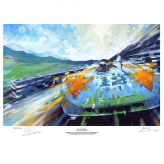 Product image for Porsche 908/03: Signed Brian Redman