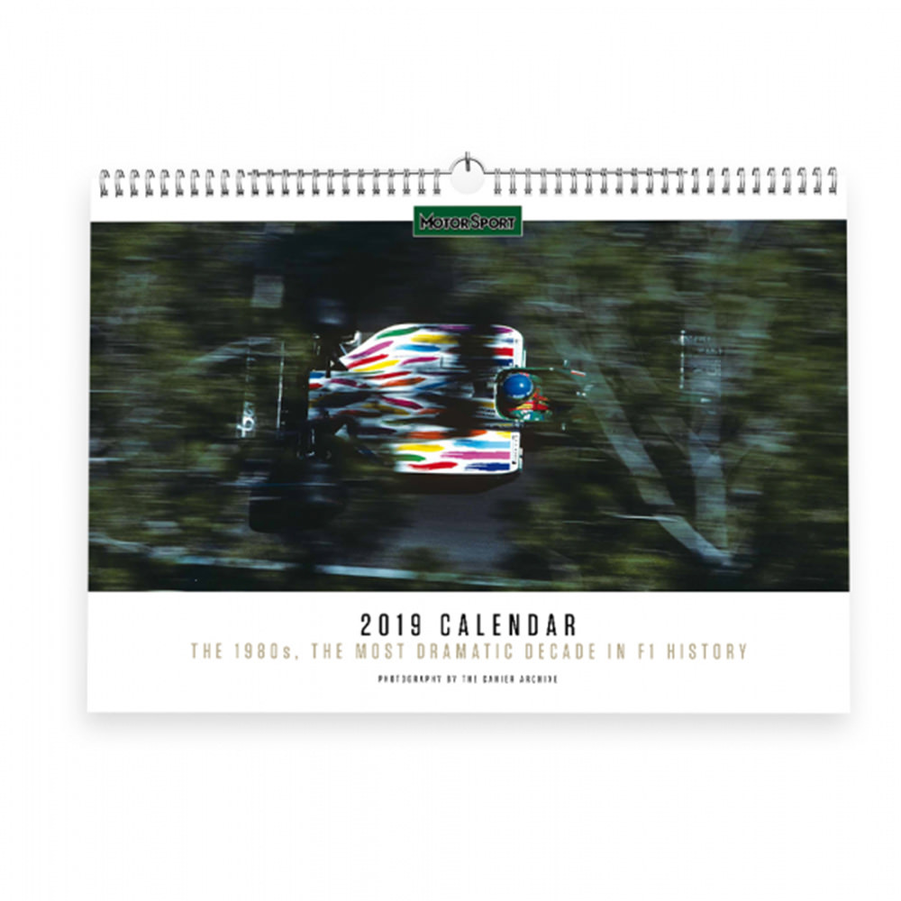 Product image for Motor Sport Calendar 2019