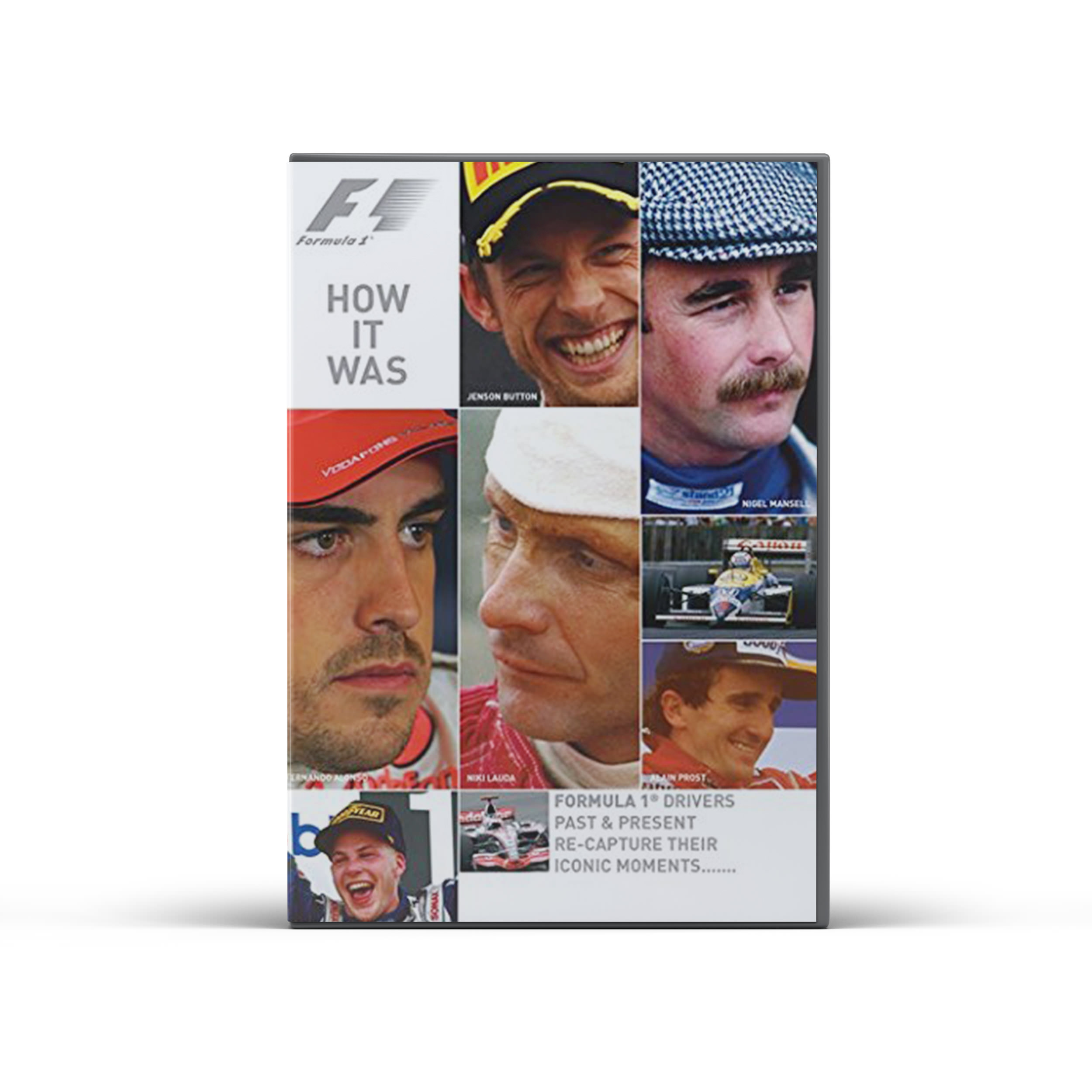 Product image for F1 'How it Was' DVD