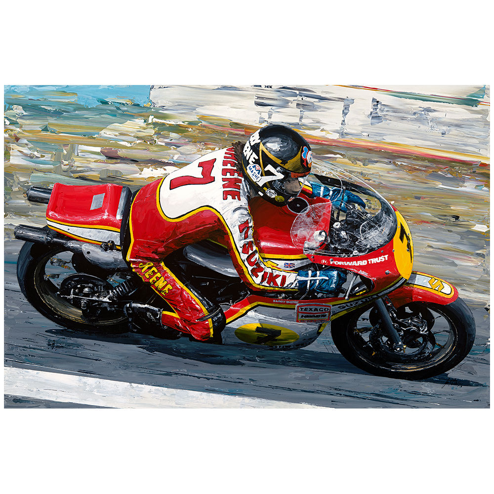 Product image for Barry Sheene 1977 Moto GP World Champion