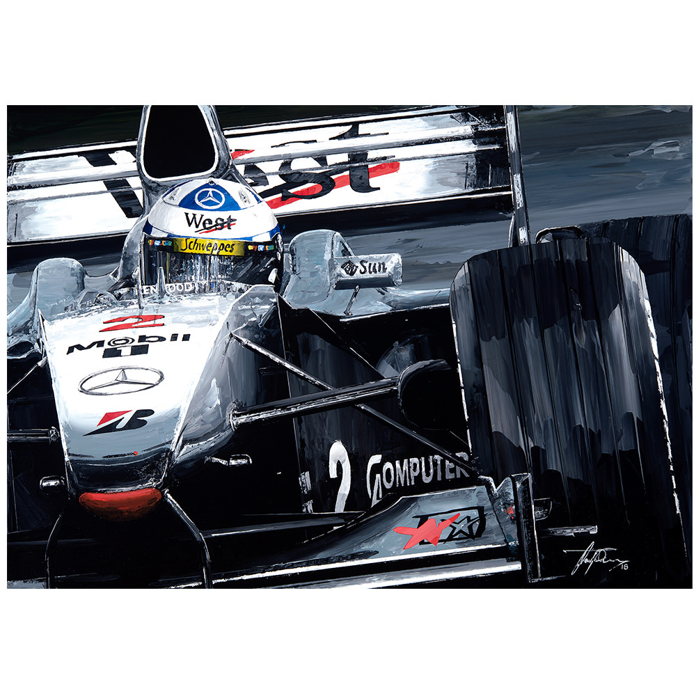 Product image for David Coulthard 2000 Mclaren Mp4/15 Giclee Print