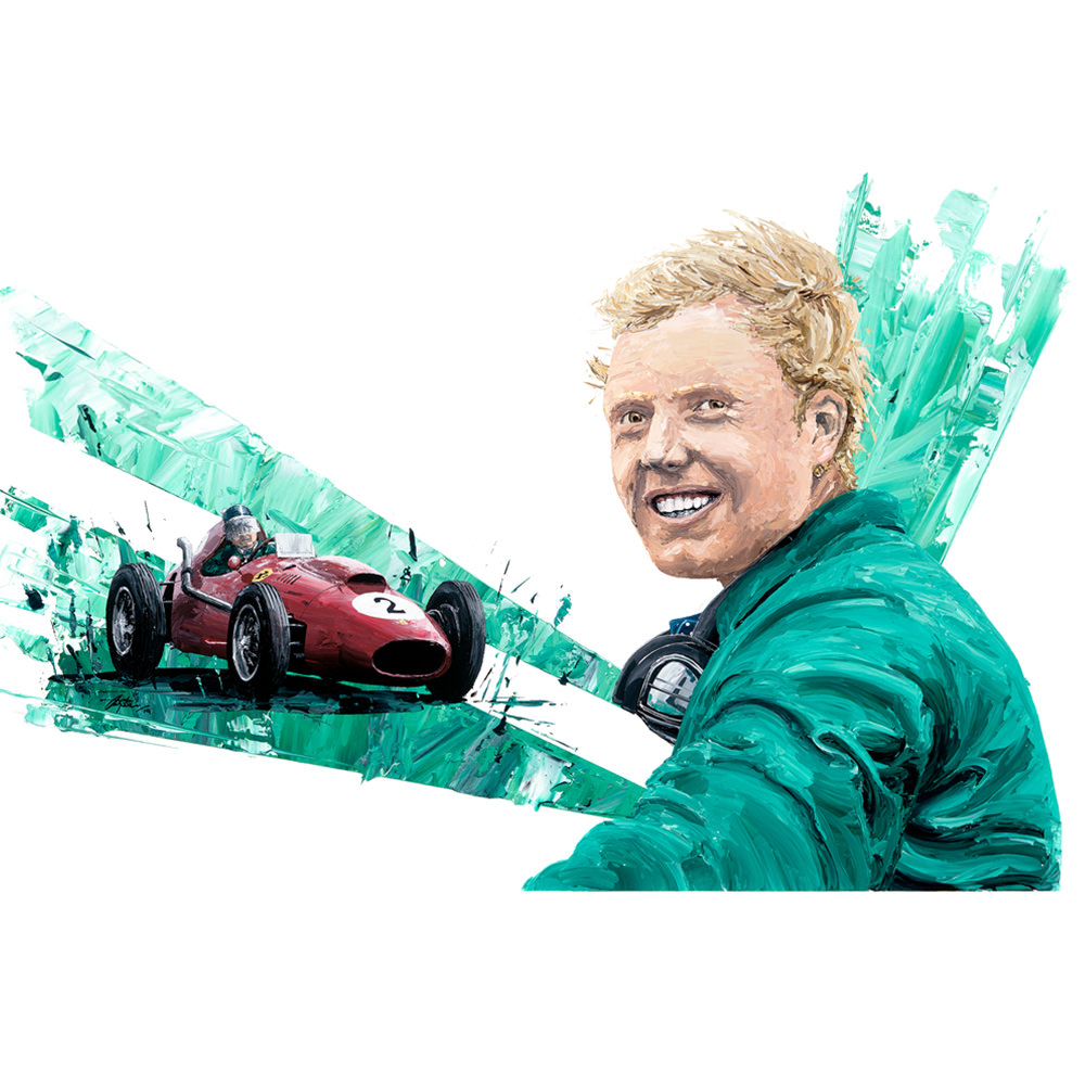 Product image for Mike Hawthorn Print