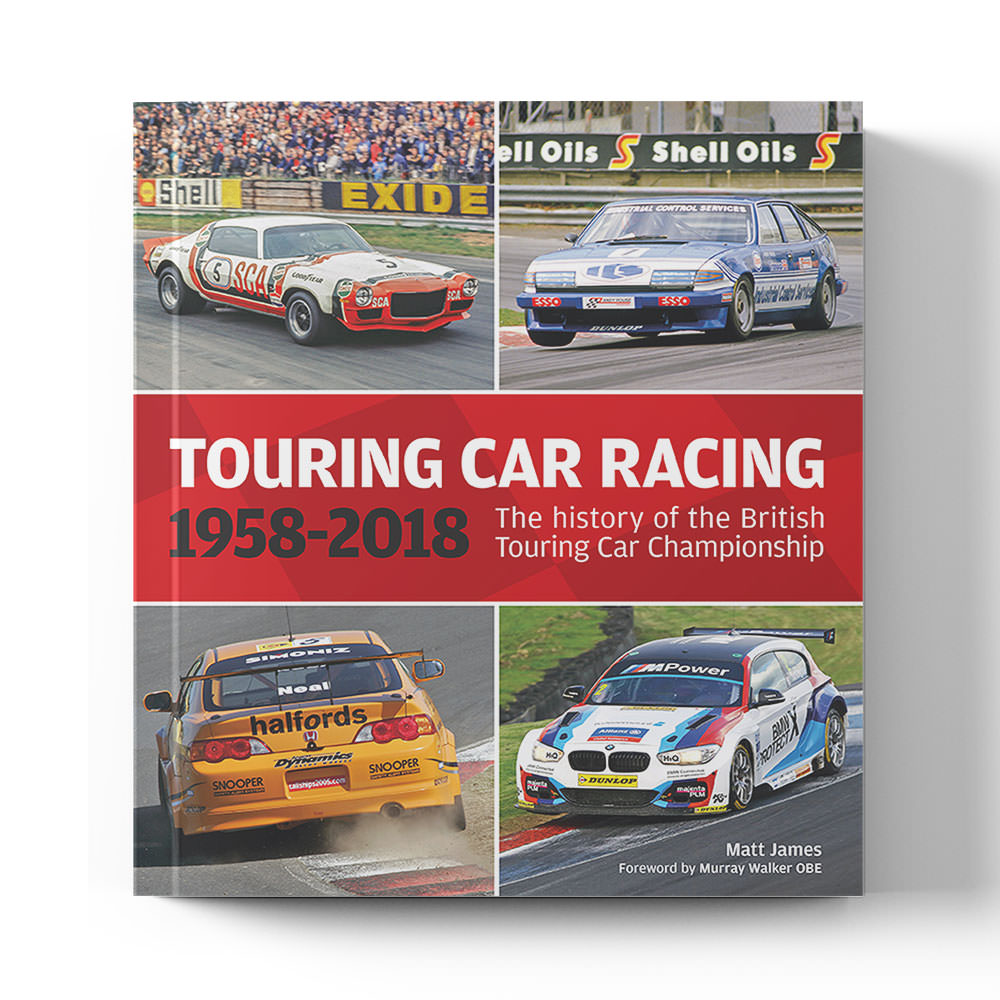 Product image for The history of the British Touring Car Championships 1958-2018 by Matt James