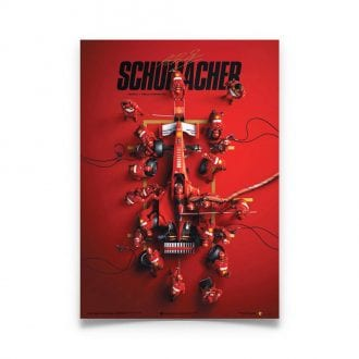 Product image for Ferrari F1-2000 - Michael Schumacher - Pit Stop -