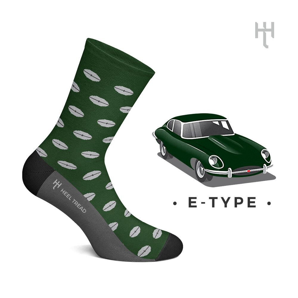 Product image for E-Type: Heel Tread Socks
