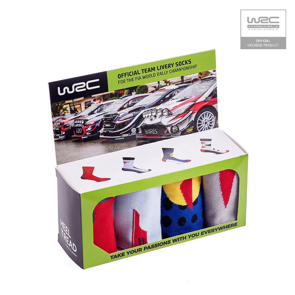 Product image for WRC 4 Pack: Heel Tread Socks