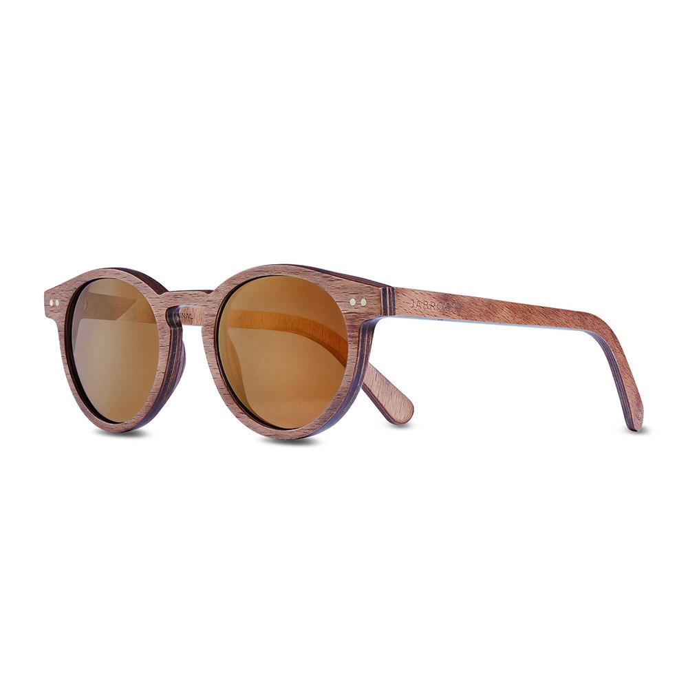 Product image for Bull Run: Gun Metal Gold Sunglasses
