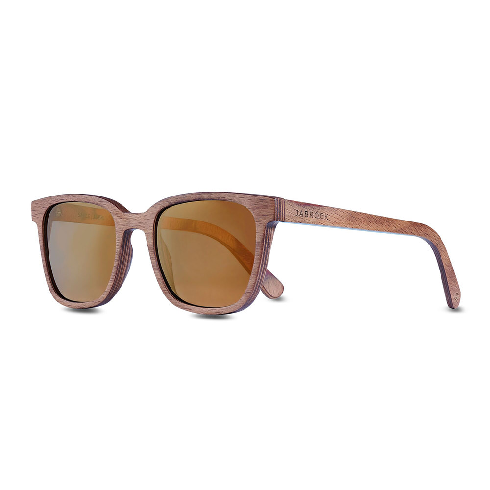 Product image for Smile: Gun Metal Gold Sunglasses