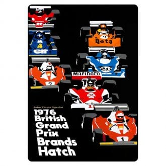 Product image for 1976 Grand Prix Print