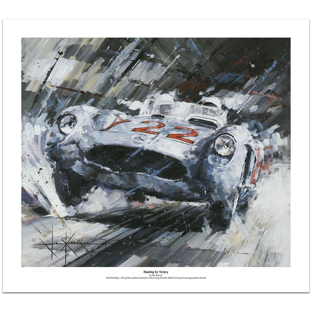 Product image for Heading For Victory - Limited Edition Print