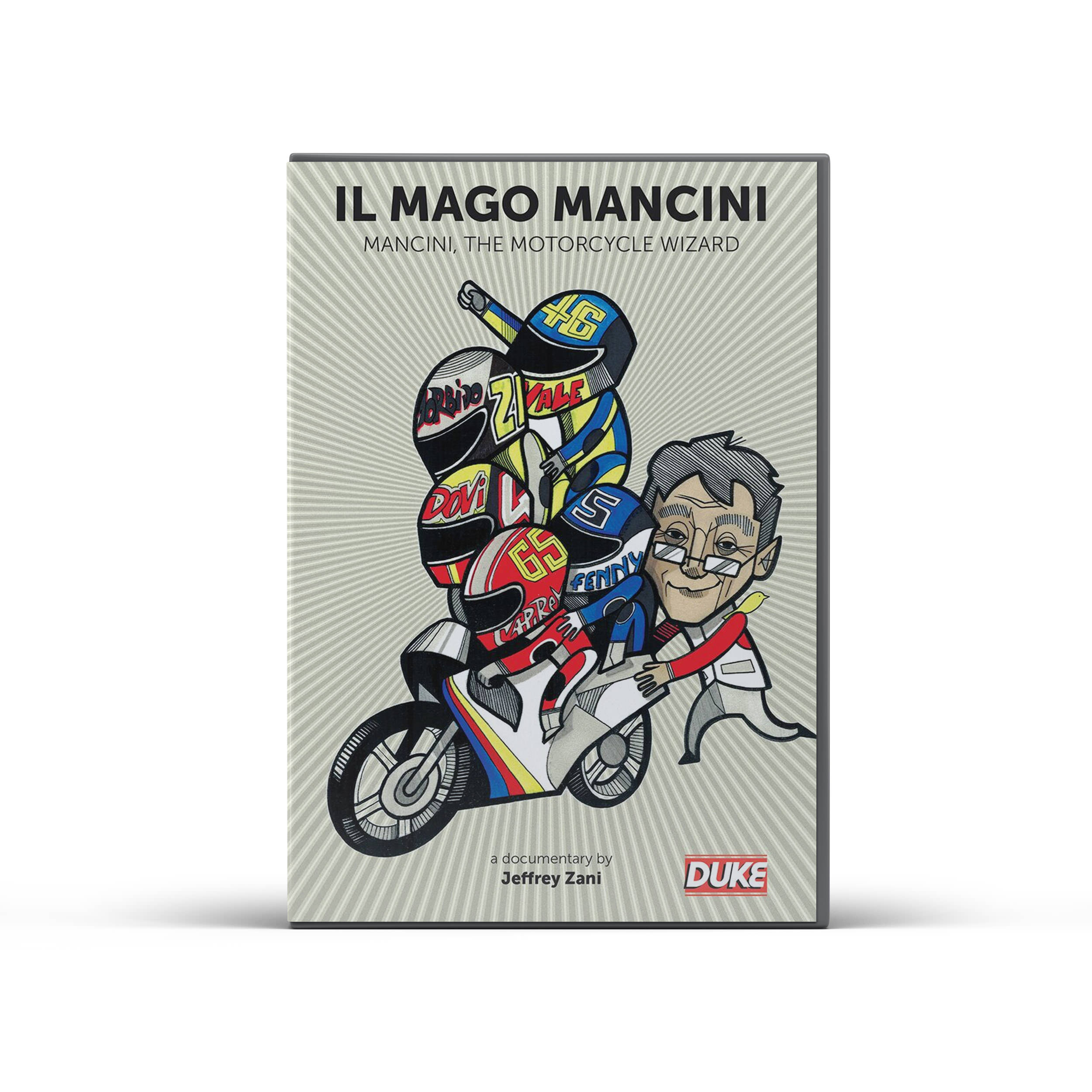 Product image for Mancini, The Motorcycle Wizard DVD