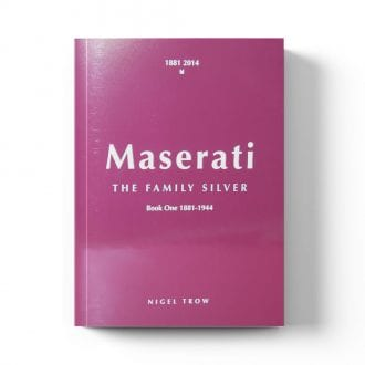 Product image for Maserati - The Family Silver: Signed