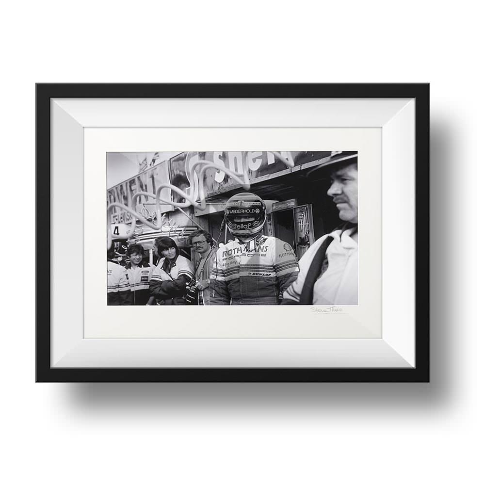 Product image for Stefan Bellof Portrait 1983