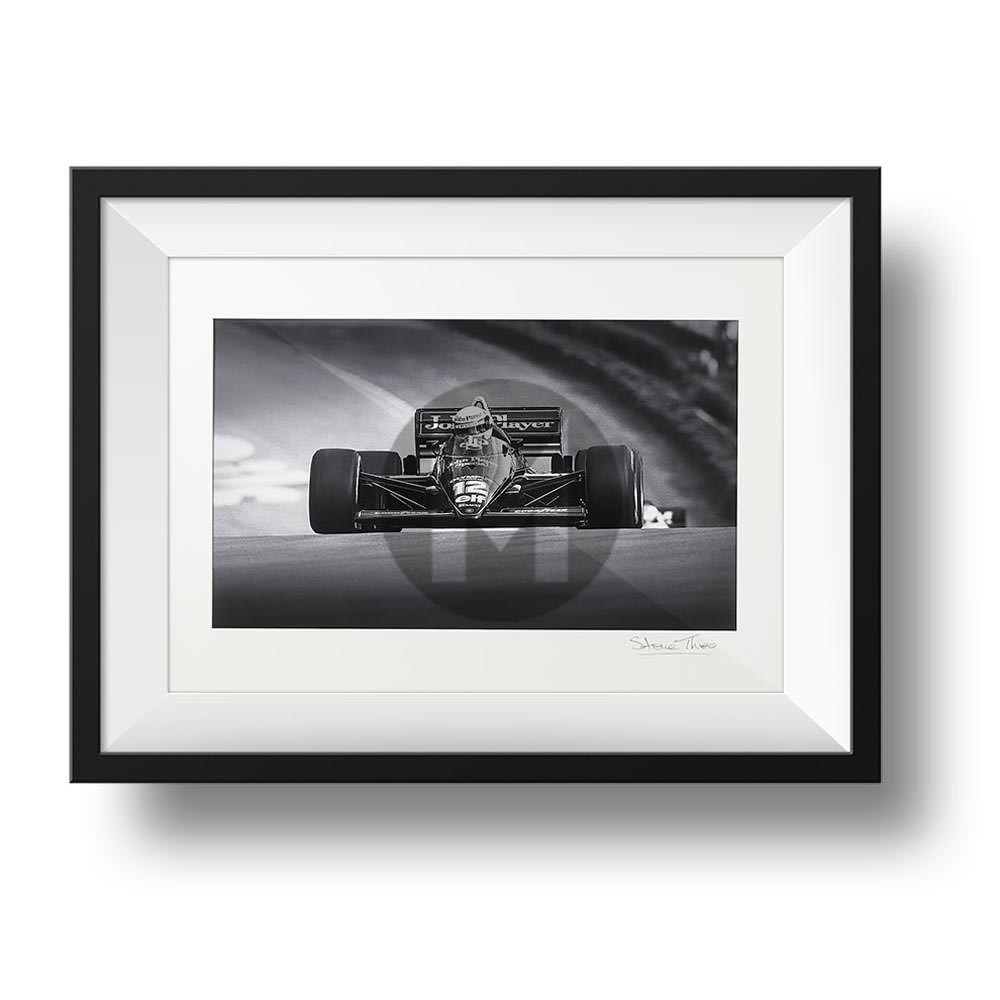 Product image for Ayrton Senna JP Lotus 97t at Brands Hatch 1985