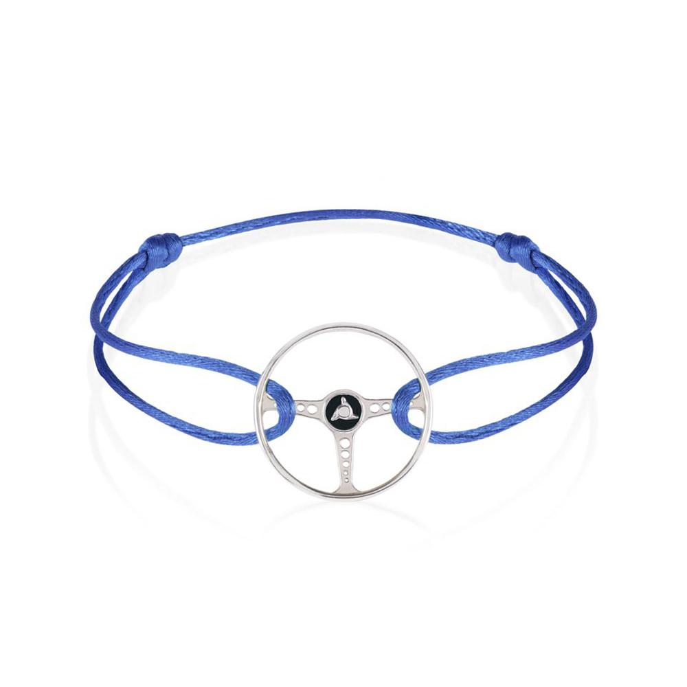Product image for Revival Steering Wheel on Cobalt Blue Cord Bracelet