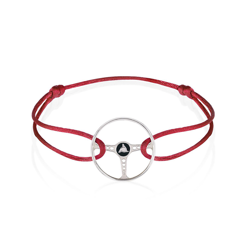 Product image for Revival Steering Wheel on Magma Red Cord Bracelet