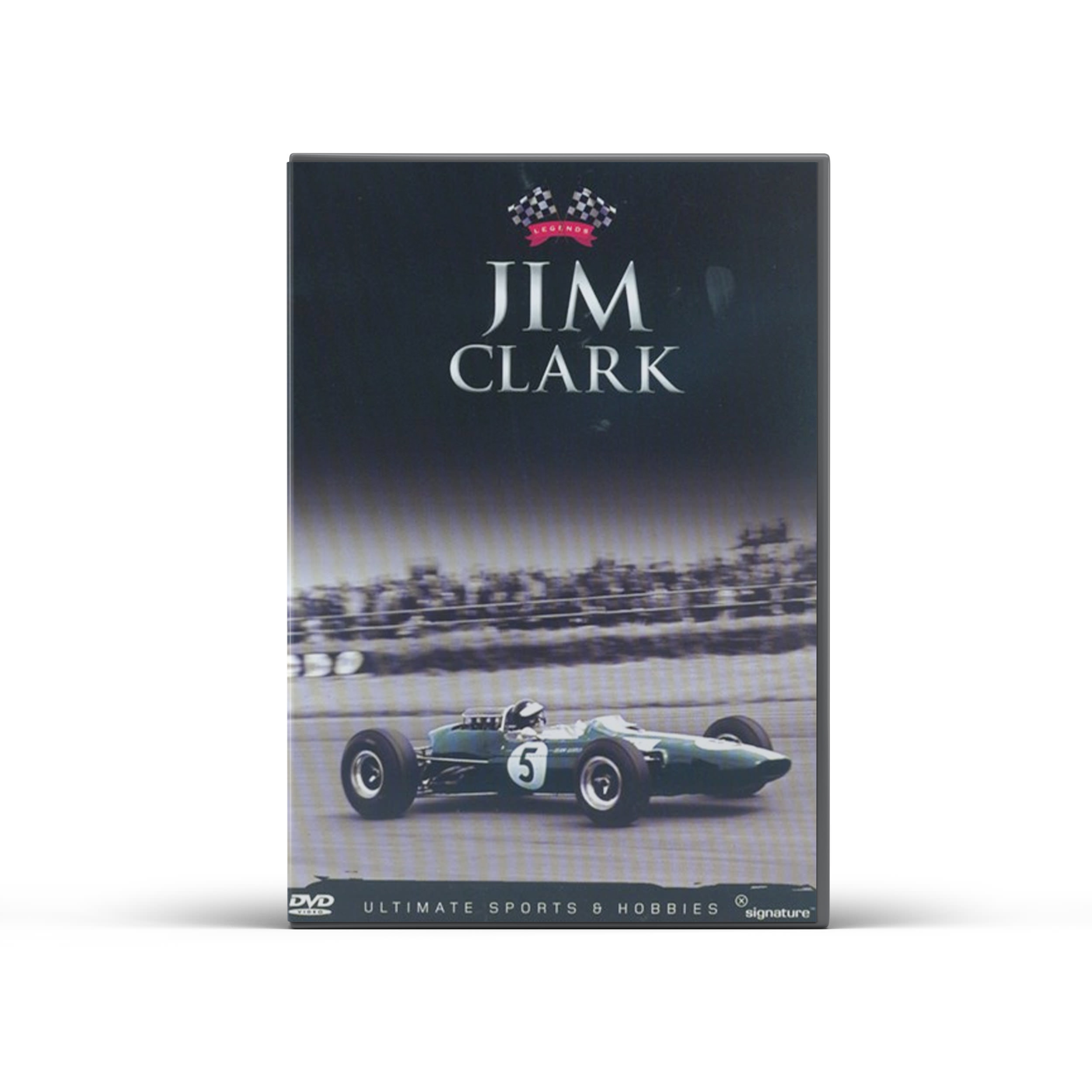 Product image for Motor Racing Legends - Jim Clark DVD