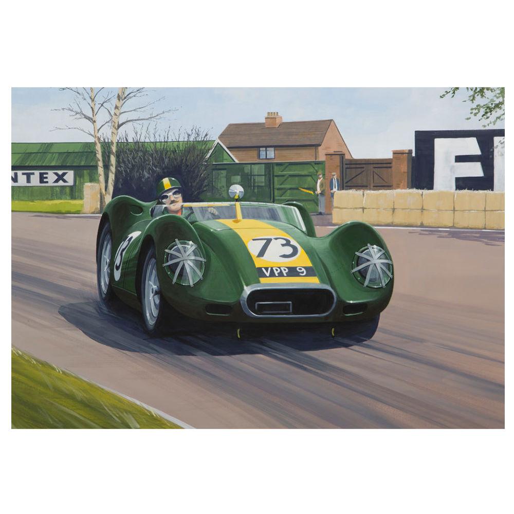 Product image for Lister Jaguar Print