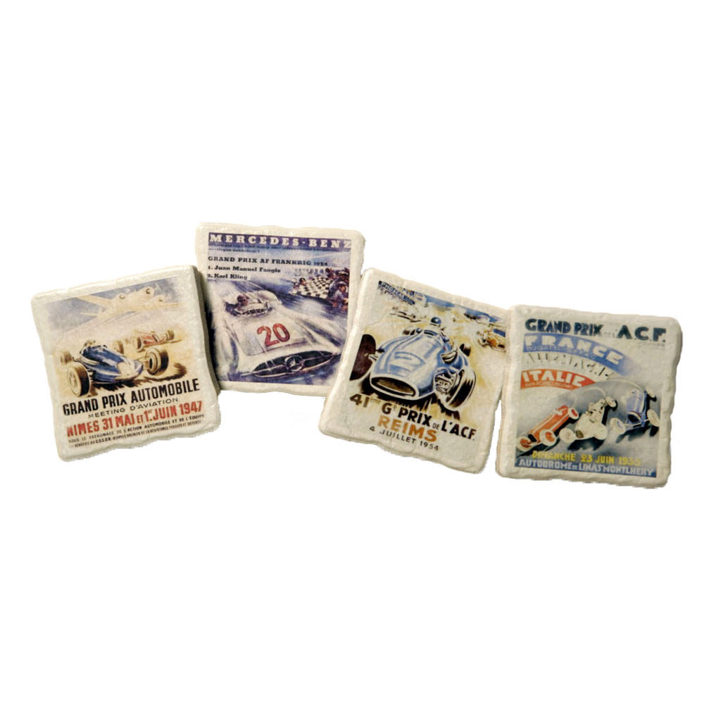 Product image for Grand Prix Coaster Set