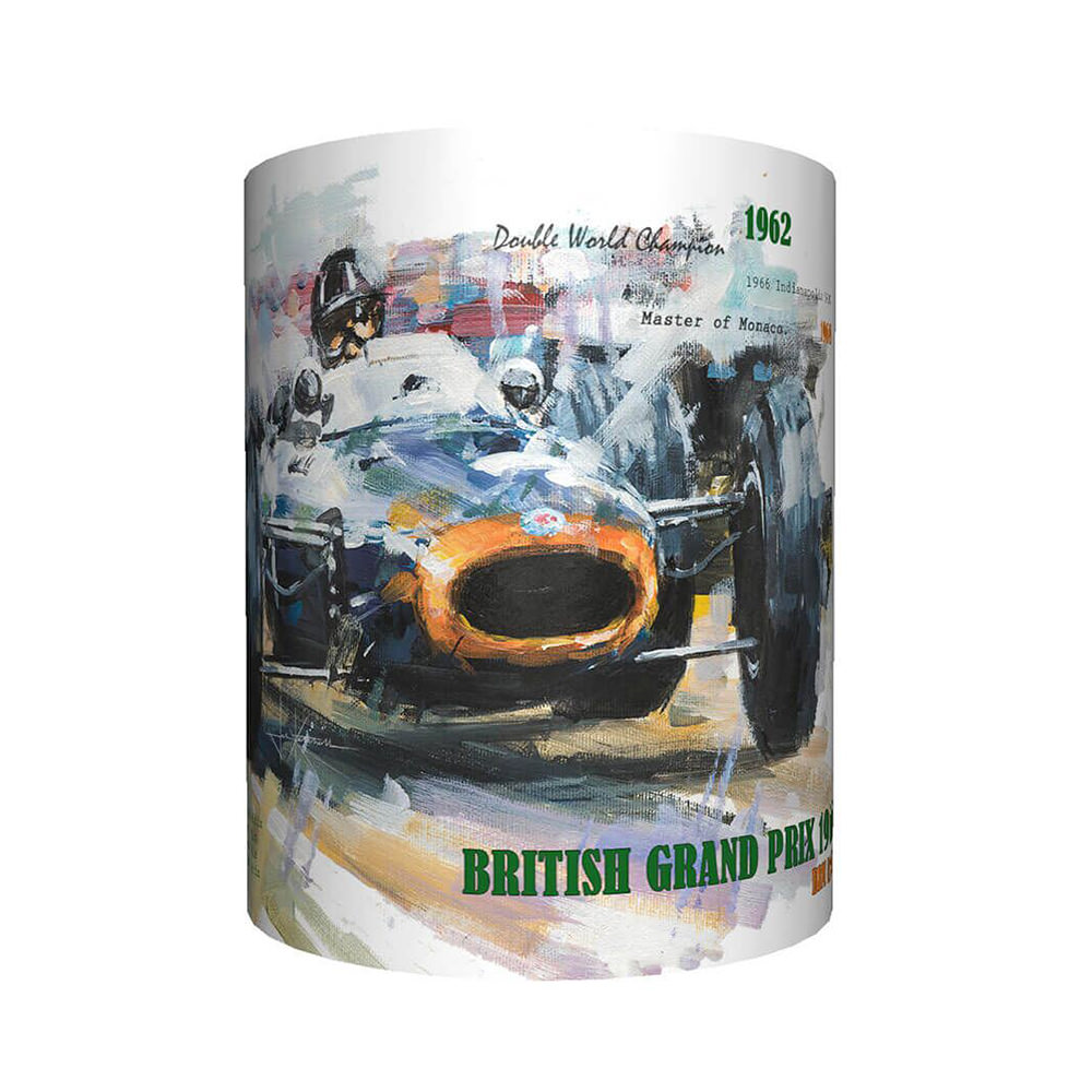 Product image for Graham Hill & BRM Art Mug