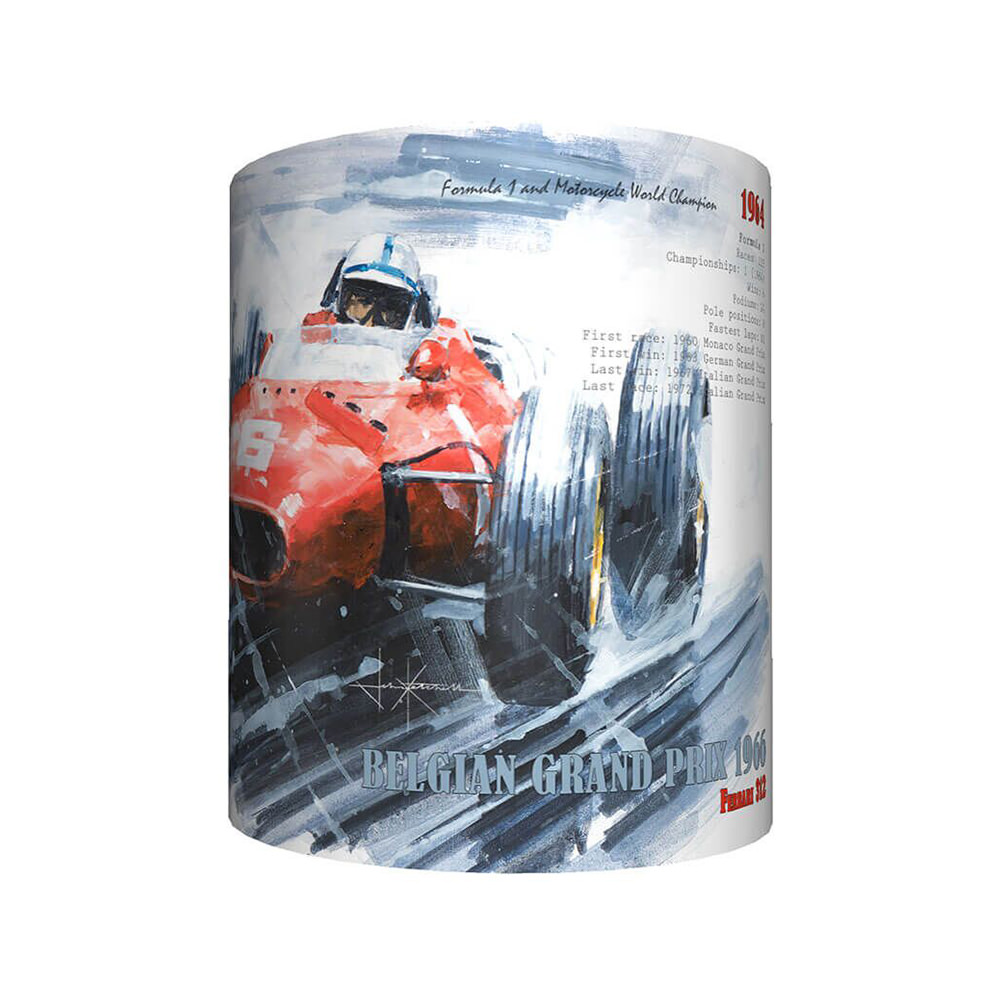 Product image for John Surtees & Ferrari Art Mug