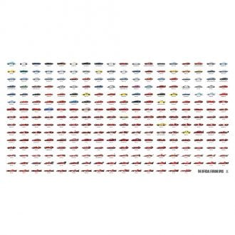 Product image for Ferrari First 60 Years - Landscape Print
