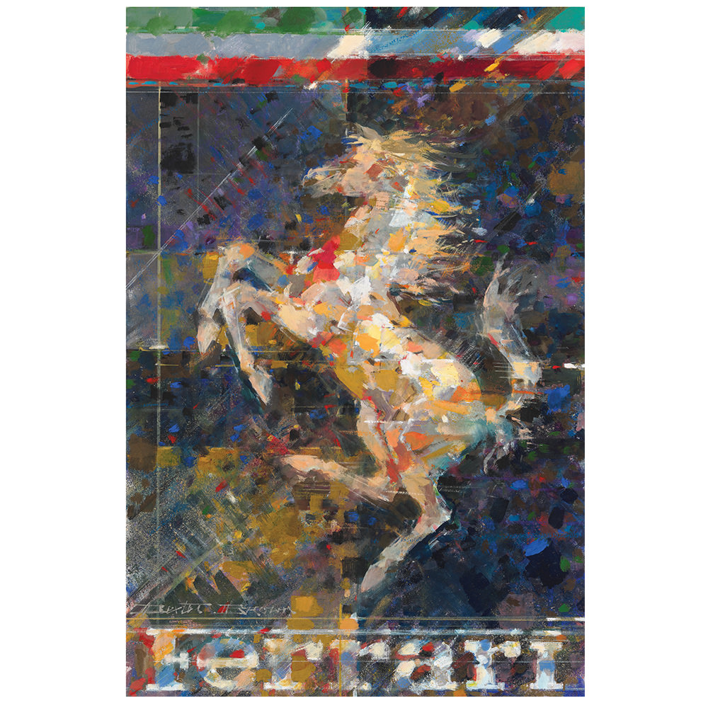 Product image for Cavallino Rampante Poster