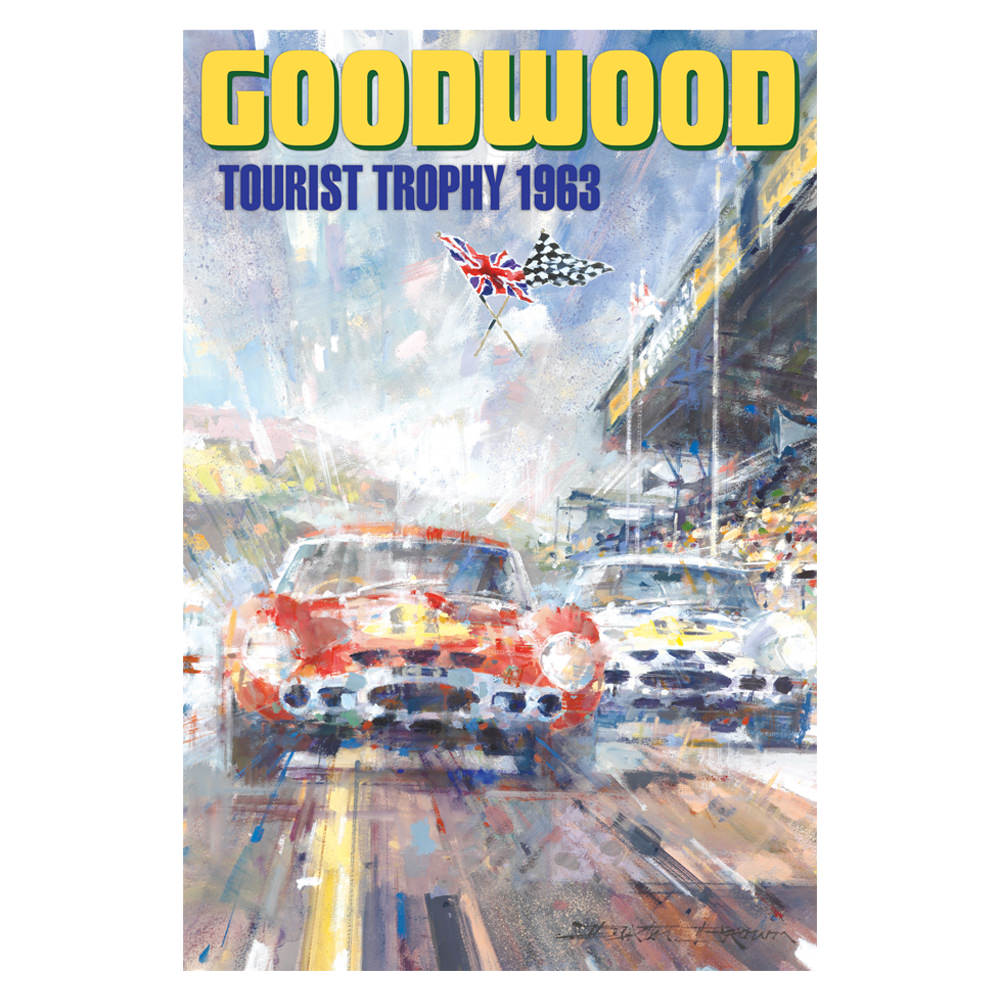 Product image for 1963 Goodwood Tourist Trophy Poster