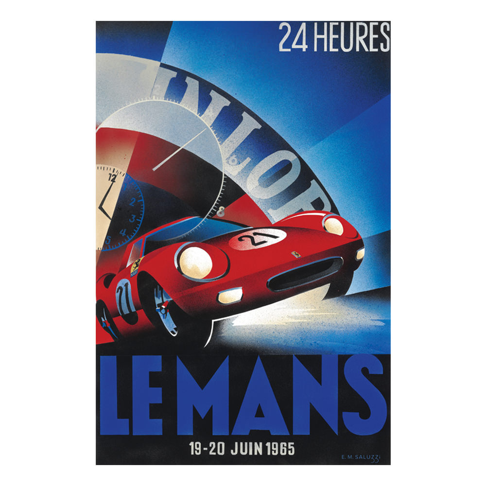 Product image for 1965 Le Mans 24 Hours Poster