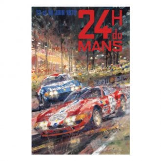 Product image for 1972 Le Mans 24 Hours Poster
