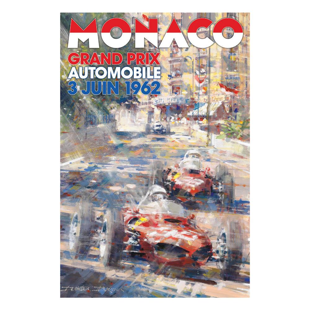 Product image for 1962 Monaco Grand Prix Poster
