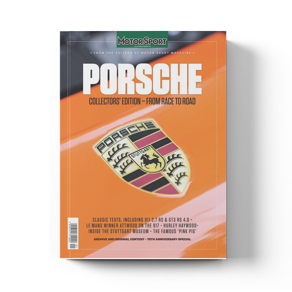 Product image for Porsche - From Race to Road by Motor Sport Magazine