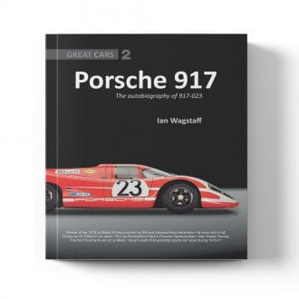 Product image for Porsche 917 - The Autobiography of 917-023 by Ian Wagstaff
