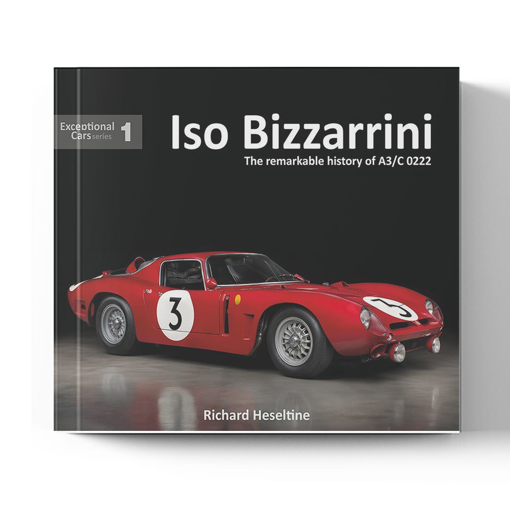 Product image for Iso Bizzarrini - The remarkable history of A3/C 0222 by Richard Heseltine