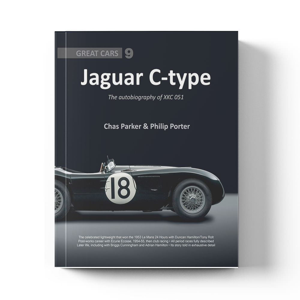 Product image for Jaguar C-type - The Autobiography of XKC 051 by Chas Parker & Philip Porter