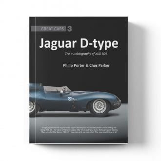 Product image for Jaguar D-type: The autobiography of XKD504 by Philip Porter & Chas Parker
