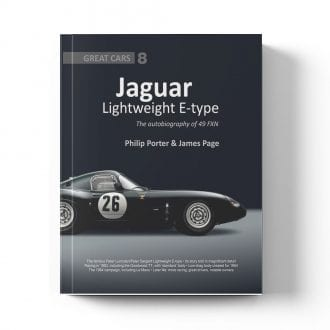 Product image for Jaguar Lightweight E-type The Autobiography 49 FXN by Philip Porter & James Page